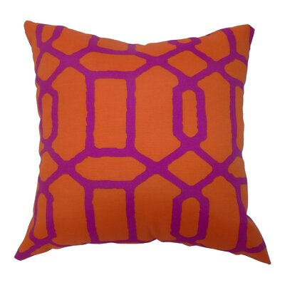 Window Print Koi Throw Pillow