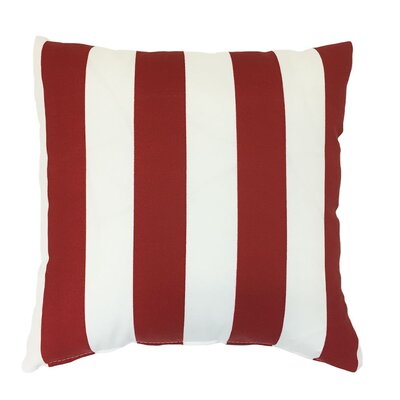 Reversible Zip Outdoor Throw Pillow Size: 18 H x 18 W