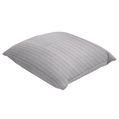Mattie Zip Closure Throw Pillow Size: 22 H x 22 W x 5 D