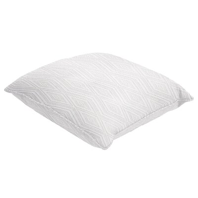 Brightwaters Single Piped Throw Pillow Size: 22 H x 22 W x 5 D