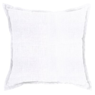 Mckenna Throw Pillow Color: Slub White