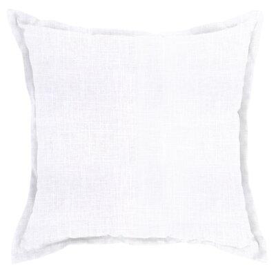 Mckenna Throw Pillow Color: Slub White