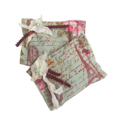 Tour Eiffel Sachet Pillow