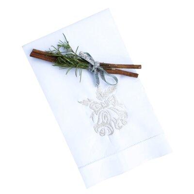 Bells Linen Guest Hemstitch Hand Towel