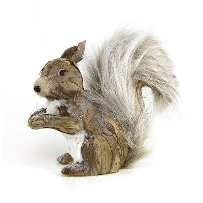 Sitting Squirrel Figurine V677