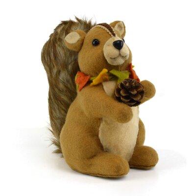 Sitting Squirrel Figurine V689
