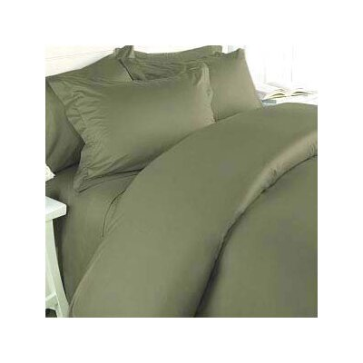 Luxe Home Collections HC 3 Piece Duvet Cover Set - Size: Full / Queen, Color: Sage