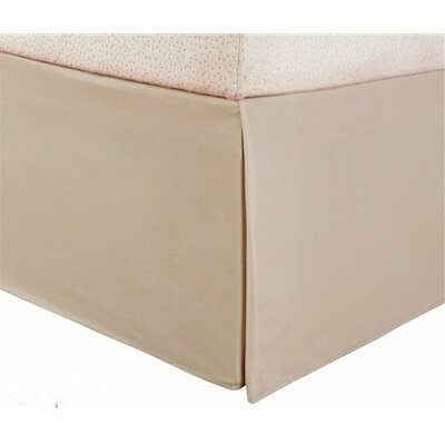 Pelham Tailored 1800 Thread Count Bed Skirt Size: Full, Color: Taupe