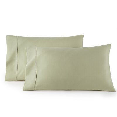 Pelham 1500 Thread Count Pillow Case Size: Standard, Color: Sage