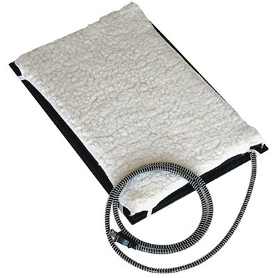 Heated Dog Mat Size: Small (21 L x 13 W)