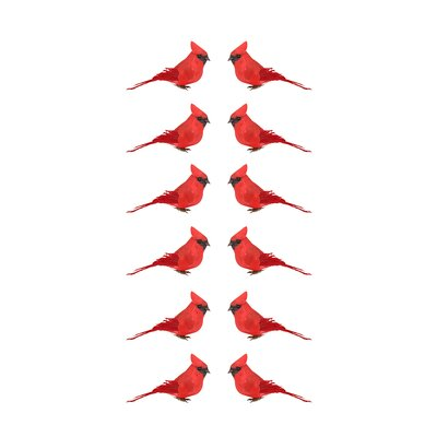 Cardinal Bird Christmas Ornament JA83816