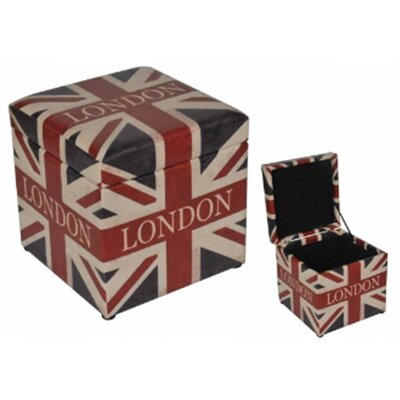 London British Flag Ottoman