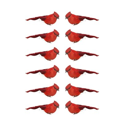 Crimson Bird Christmas Ornament JA83810