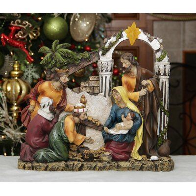 Nativity and Wise men figurine