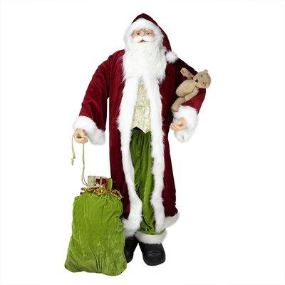Standing Life-Size Decorative Christmas Santa Claus Figure