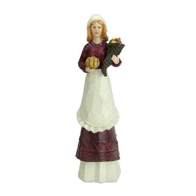 Autumn Pilgrim Thanksgiving Figurine D83994