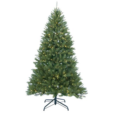 9' Essex Pine Medium Artificial Christmas Tree with 900 Clear Lights