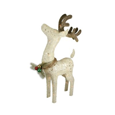 Standing Reindeer Christmas Decoration
