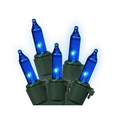Commercial Grade Mini Christmas Light (Pack of 100) Color: Blue