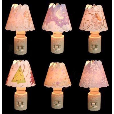 9 Piece Whirl-Glo Night Light Set