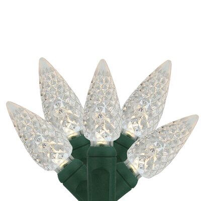 C6 Faceted Commercial Grade Christmas Light (Pack of 35)