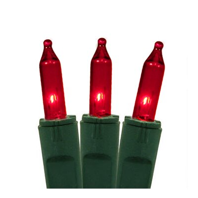 Perm-O-Snap Mini Christmas Light (Pack of 50) Color: Red/Green