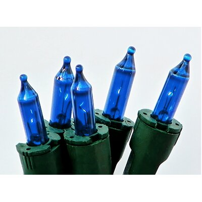 Perm-O-Snap Mini Christmas Light (Pack of 50) Color: Blue/Green
