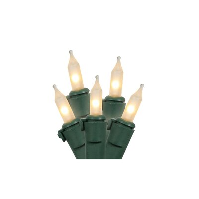 Commercial Grade Mini Christmas Light (Pack of 50) Color: Clear/Frost
