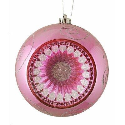Retro Reflector Shatterproof Christmas Ball Ornament Color: Bubblegum