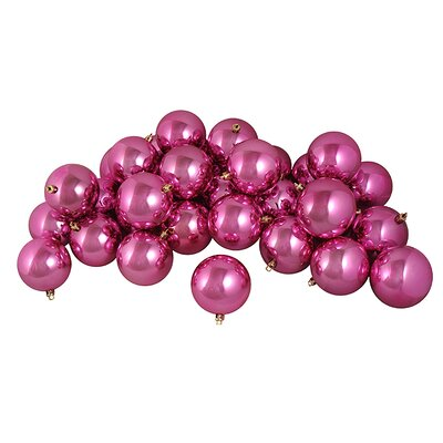 Shatterproof Christmas Ball Ornament Color: Pretty Pink