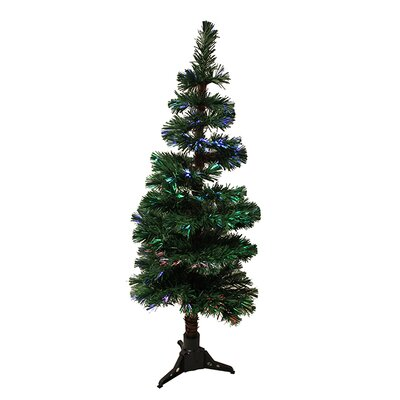 5' Artificial Spiral Pine Christmas Tree with Multi Light
