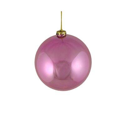 "Shatterproof Christmas Ball Ornament Size: 6"" W x 6"" D"