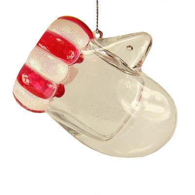 Glitter Mitten Christmas Ornament 01601344 E