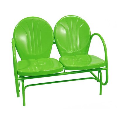 Northlight Retro Metal Tulip Double Glider 91500
