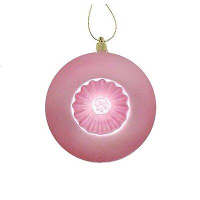 Retro Reflector Shatterproof Christmas Ball Ornament Color: Pink