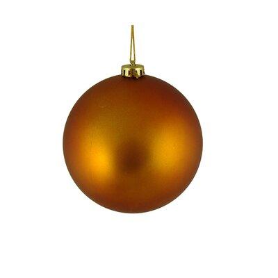 Shatterproof Christmas Ball Ornament Color: Burnt Orange