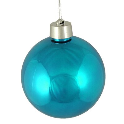 Shatterproof Christmas Ball Ornament Color: Turquoise Blue