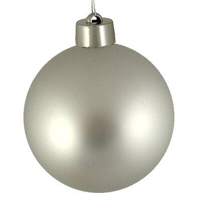 Shatterproof Christmas Ball Ornament Color: Silver Splendor