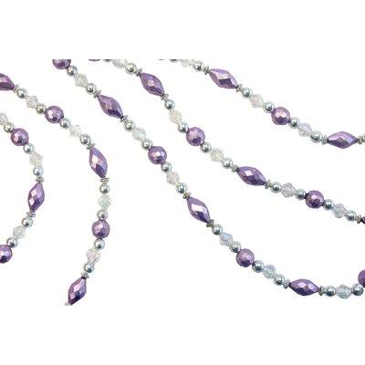 Gigi Bead Garland Color: Sterling/Primrose/Silver Midas