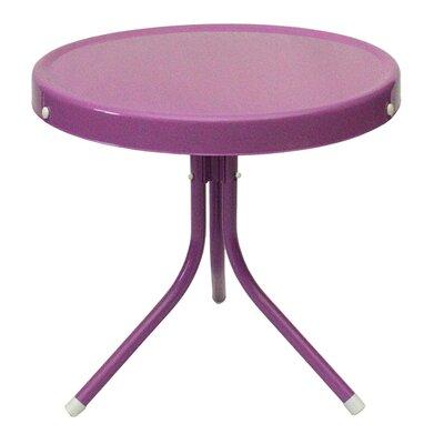 Bistro Table Finish: Purple
