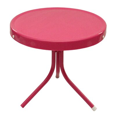 Bistro Table Finish: Pink