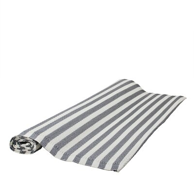 Seaside Treasures Storm Gray/White Sand Outdoor Area Rug