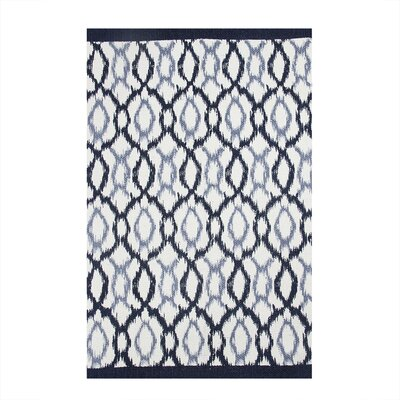 Seaside Treasures Navy/Pastel Blue Area Rug