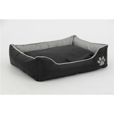 Sleeper Lounge Pet Bed Color: Gray/Black