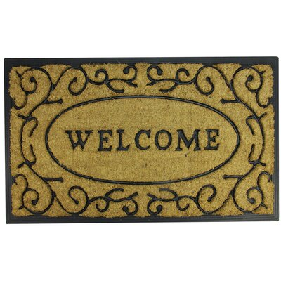 Welcome Scroll Doormat
