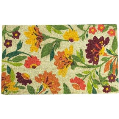 Spring Flower Doormat