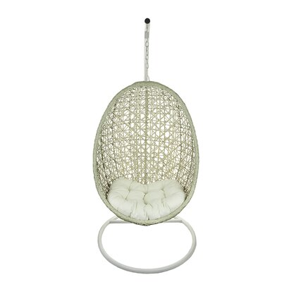 Hanging Egg Swing Chair Color: Beige