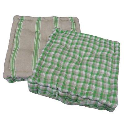 Chair Cushion Fabric: Green