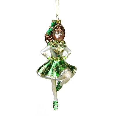 Luck of the Irish Celtic Dancer Christmas Ornament