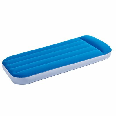 8 Air Mattress Color: Blue/White